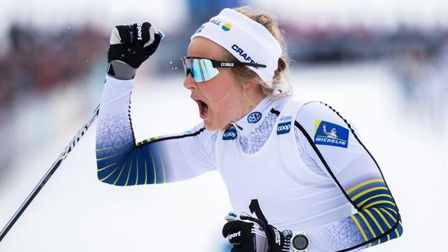 Nilsson leads from the front as she takes World Cup win
