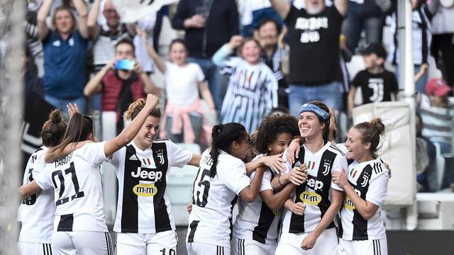 Calcio femminile, in 40 mila allo Stadium per Juventus-Fiorentina