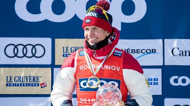Большунов получил дистанционный Кубок и все же улыбнулся