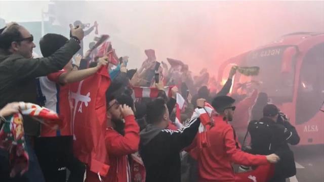 Gijón vibra con el Sporting-Oviedo, el último derbi asturiano de la temporada