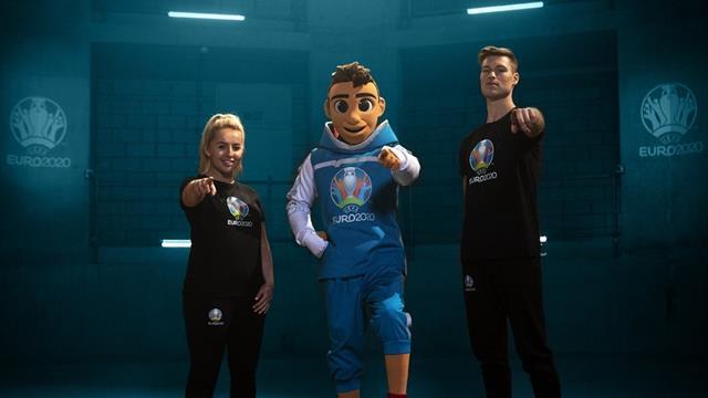 Мальчик Скиллзи стал талисманом Евро-2020