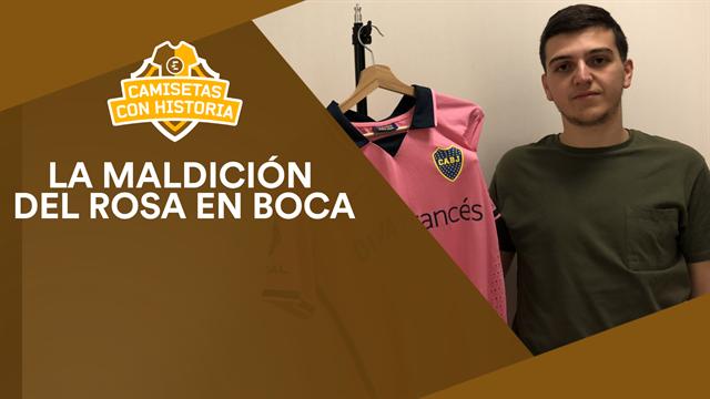 Camisetas con historia: La maldición del rosa en Boca Juniors
