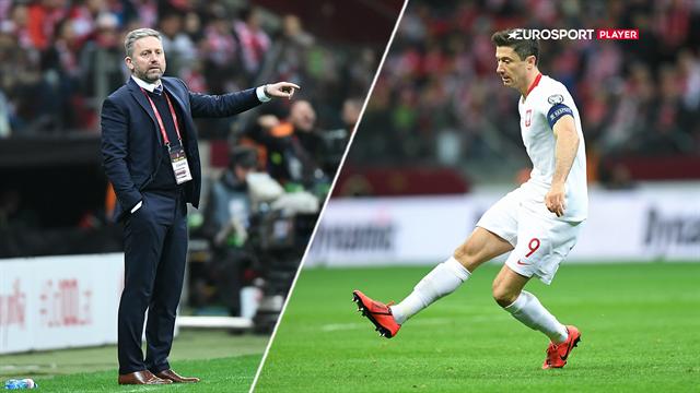 Highlights: Livlinen Lewandowski og krumtappen Glik reddede Polen fra chokresultat hjemme