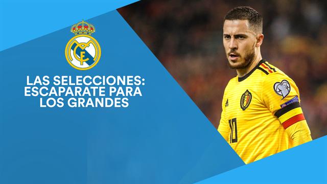 Los cracks del parón de selecciones que está siguiendo el Real Madrid
