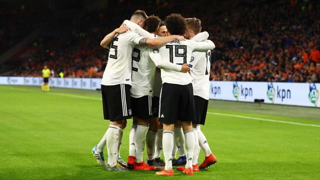 ⚽👀 Un gol de Schulz en el 90 da la victoria a Alemania ante la renovada Holanda de Koeman (2-3)