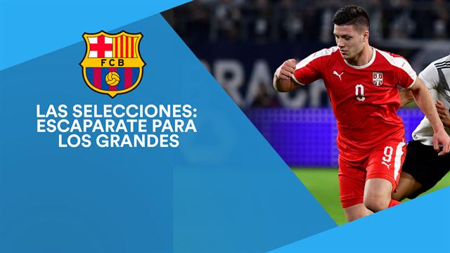 Los cracks del parón de selecciones que está siguiendo el Barça