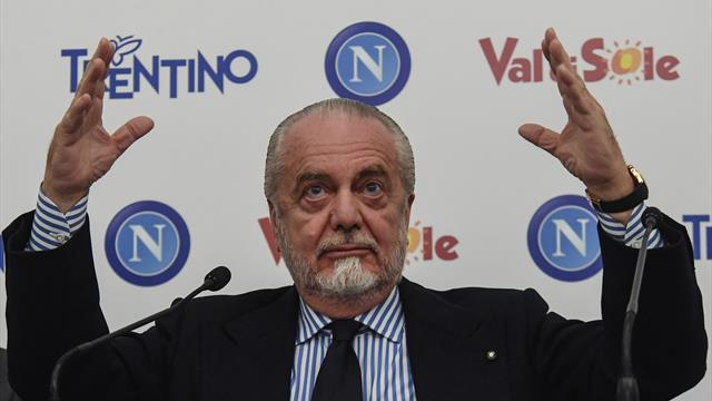 Napoli, De Laurentiis avverte: