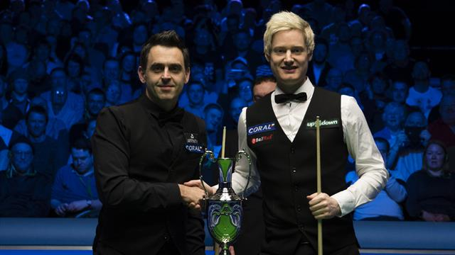 O'Sullivan completes astonishing return to world no 1 with Tour Championship victory