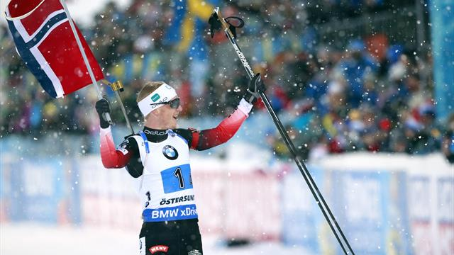 Oslo Holmenkollen   Boe sluit topseizoen af in stijl