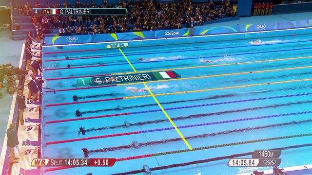 Gregorio Paltrinieri: l'Oro nei 1500 sl alle Olimpiadi 2016 in soli 90 secondi