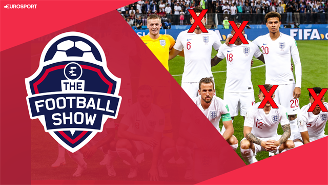 The Football Show: Who makes England's starting XI for the Nations League Finals?