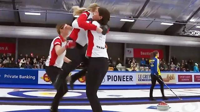 WM-Gold für die Schweiz in dramatischem Zusatz-End