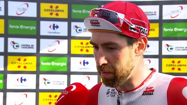 De Gendt on stage one victory at Tour of Catalunya: 'It's not easy to win like this'