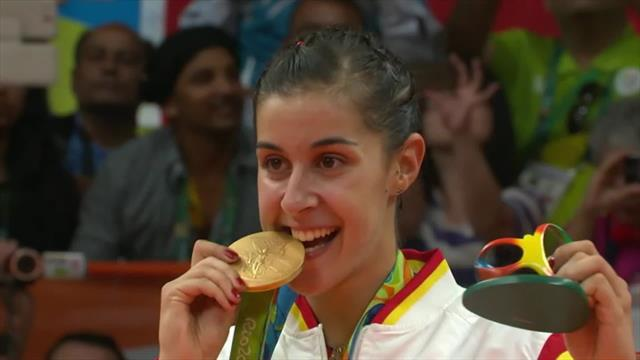 Olympic Channel : Game Breakers - Carolina Marin (SPA) Badminton