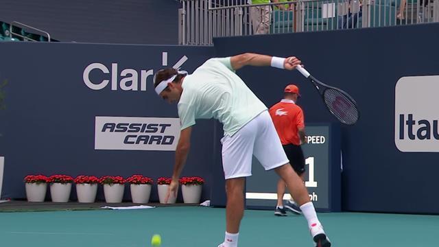 Мудрый Федерер легко поймал Крайиновича на противоходе