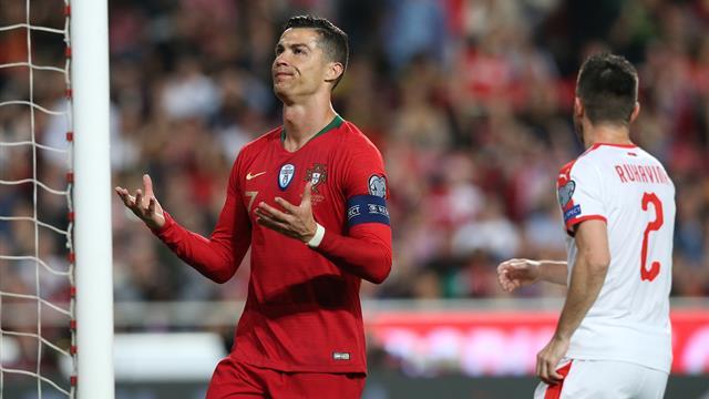 ⚽🇵🇹 Problemas para Portugal: vuelve a empatar y Cristiano se lesiona (1-1)