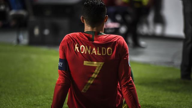 Роналду получил травму в матче с Сербией