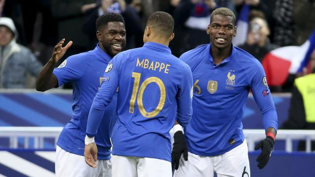 Mbappe stars as France cruise past Iceland