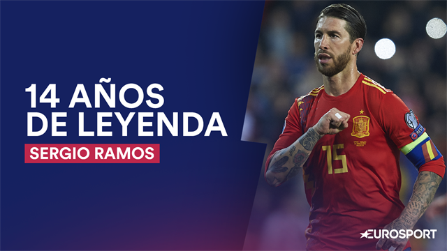 Sergio Ramos, una leyenda de 14 años y un líder para rato