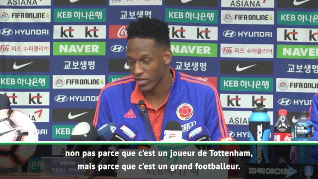 """Colombie - Mina : """"Son est un grand footballeur"""""""