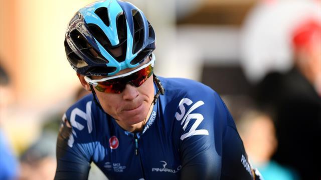 Chris Froome na startu Tour of the Alps. Startuje i Jan Hirt.