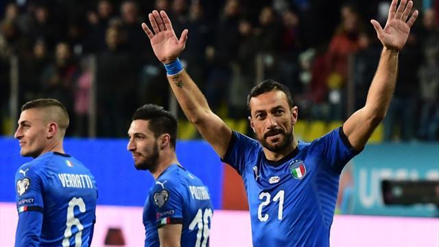 Clasificación Euro 2020, Italia-Liechtenstein: Festín azzurro (6-0)