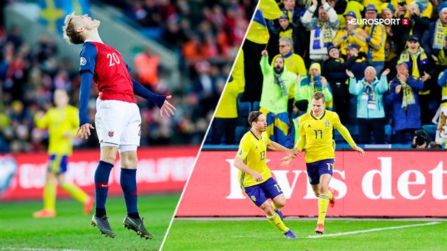 Highlights: Afsindigt seks-måls drama afgjort i overtiden i nordisk nabokrig
