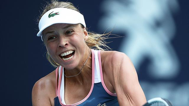 Kontaveit brings giant killer Hsieh's Miami run to an end