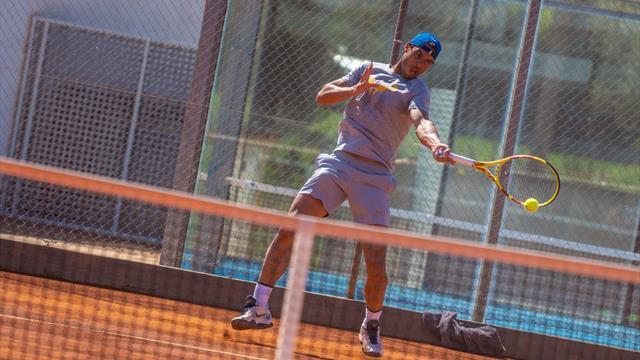 """Masters Monte Carlo 2019, Rafa Nadal confirma su recuperación: """"Mi rodilla está bien"""""""