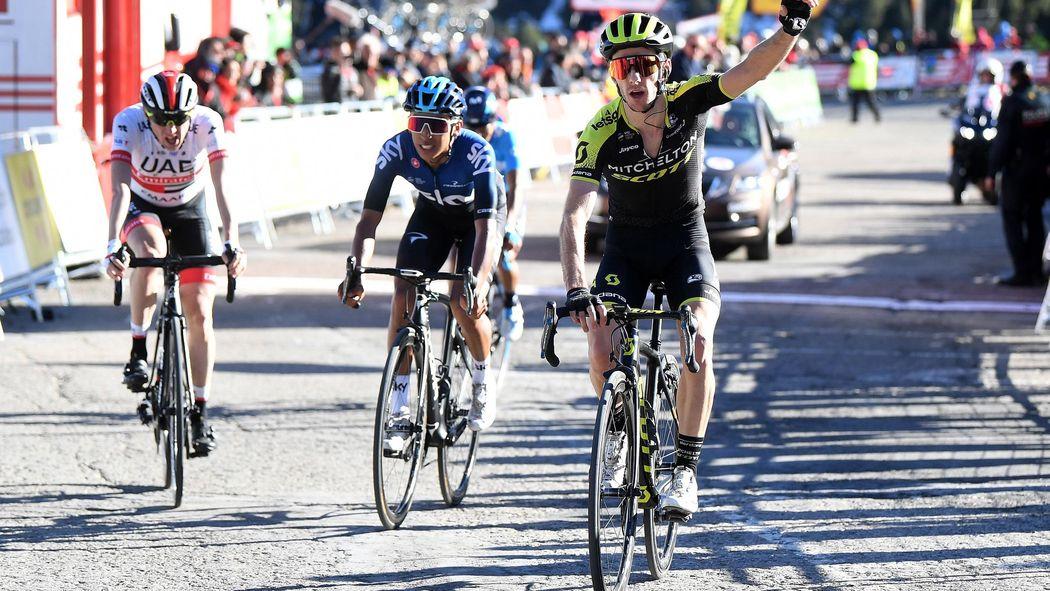 Adam Yates powers to stage three win - Volta a Catalunya