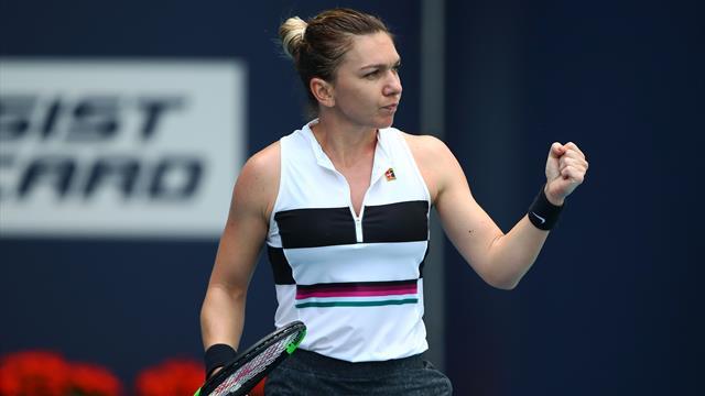 Classement WTA : Demi-finaliste à Miami, Halep se rapproche d'Osaka