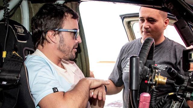 El exigente plan de preparación de Fernando Alonso para el Dakar 2020, que verás en Eurosport