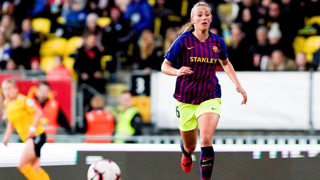 82016db6c10eb El Barça como no lo habías visto  la razón de la extraña equipación del  equipo femenino en Noruega - Fútbol - Eurosport