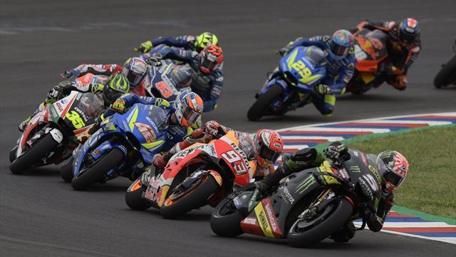 Sezonul de MotoGP continuă cu etapa din Argentina în direct pe Eurosport