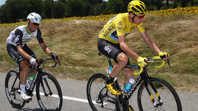 Blazin' Saddles: Are Brits Froome and Cavendish nearing the end?