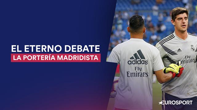 El Madrid, un caso único en Europa de portería de lujo sin definir, pero con una promesa de Zidane