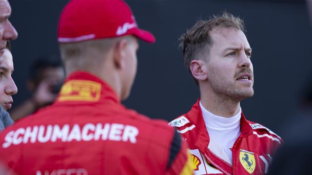 Schumacher to make F1 test debut with Ferrari