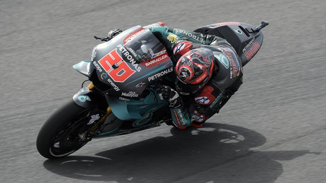 Quartararo becomes youngest MotoGP pole-sitter