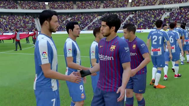 Liga Virtual: Así ha quedado el Barça-Espanyol