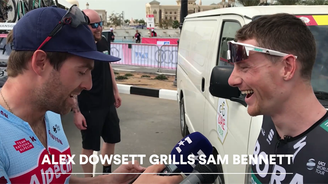 'How long is too long?' And other probing questions - Sam Bennett gets grilled by Alex Dowsett
