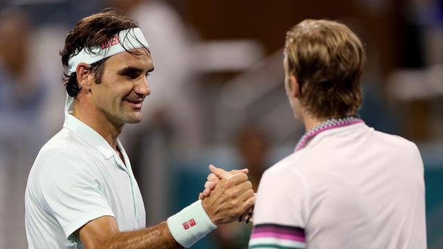 Федерер в двух сетах прорубил путь в 50-й финал «Мастерса» в карьере