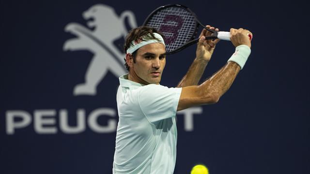 Federer a commencé sa préparation sur terre battue