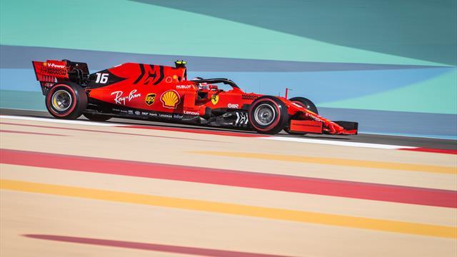 Formel 1: Ferrari auch im dritten Bahrain-Training vorn - Leclerc schlägt Vettel
