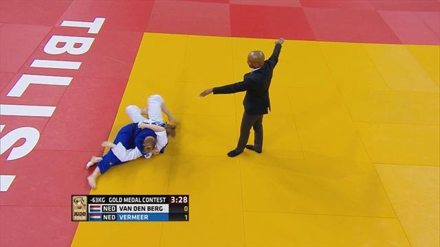 World Judo Tour: Vermeer se lleva el oro ante su compatriota Van den Berg