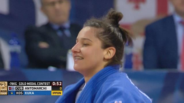 Kuka strikes gold at Grand Prix Tbilisi