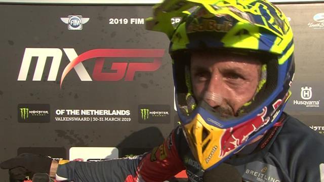 MXGP Valkenswaard | Interview met winnaar Cairoli na tweede race
