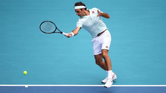 🏆 🎾 Federer vence a Isner y logra su cuarto título en Miami (1-6 y 4-6)