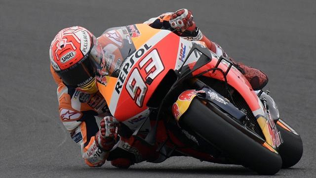 """Marquez: """"Bella la stretta di mano con Valentino Rossi, coi rivali deve esserci rispetto"""""""