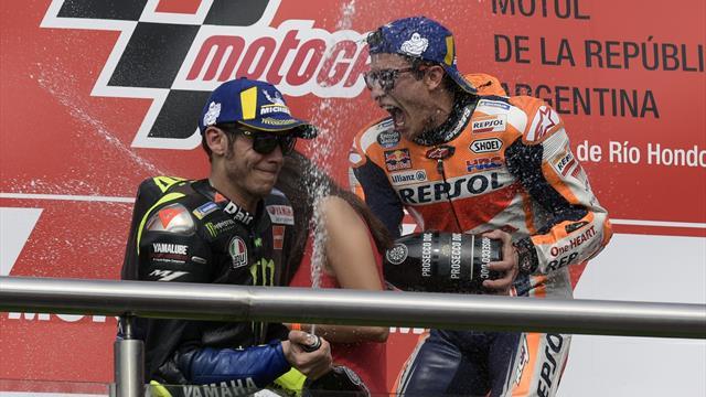 """Valentino Rossi: """"La stretta di mano con Marquez? Era il momento giusto"""""""