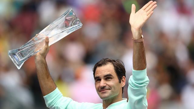 Roger Federer, Miami Açık zaferi ile bir kez daha zamana meydan okuyor